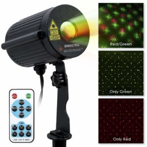 LED Concepts Firefly Laser Projection Lights, RedGreen