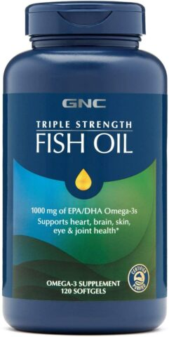 GNC Triple Strength Omega 3 Fish Oil