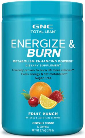 GNC Total Lean Energize and Burn