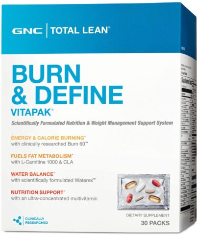 Define GNC Total Lean Burn and Vitapak