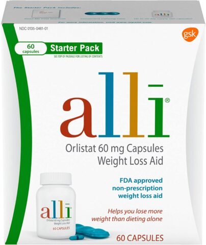 Alli weight loss diet pills