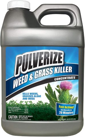 1. Pulverize PWG-C-320 Weed & Grass Concentrate Weed Killer, Clear