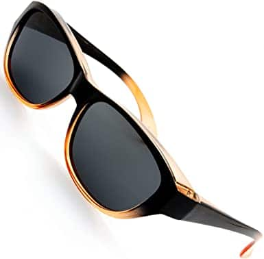 8. The Fresh HD Polarized Wrap Around Shield Sunglasses
