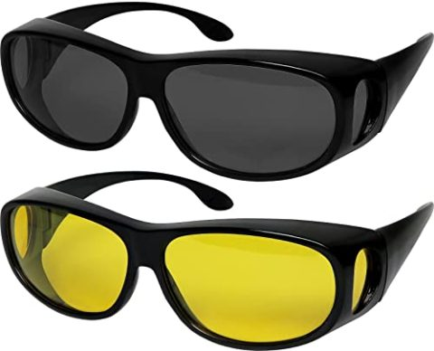 9. Fit Over Sunglasses Polarized Lens Wear Over Prescription