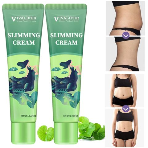1. 2 Pack Hot Cream, Slimming Cream