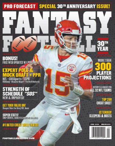 1. PRO FORECAST FANTASY FOOTBALL MAGAZINE 2019