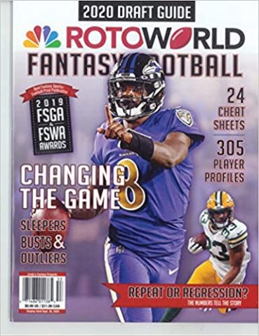 2. ROTOWORLD FANTASY FOOTBALL MAGAZINE